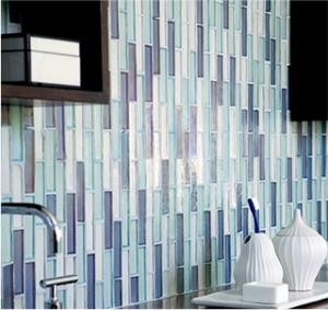 Sierra & Leone Ivoire Glass Border Tile1012 (1.5 x 60cm)
