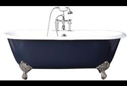 Premier b-Shaped Shower Bath FrontPanel & Screen Right Handed
