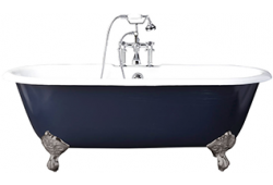 Premier b-Shaped Shower Bath Front Panel & Screen Right Handed